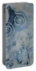 Blue Spirals Portable Battery Charger