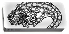 Blue Spotted Salamander Portable Battery Charger
