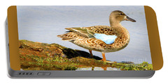 Blue-winged Teal Female Duck Portable Battery Charger