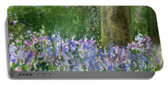 Bluebells Under The Trees Portable Battery Charger
