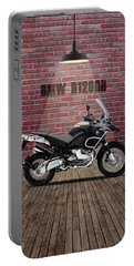 Bmw R1200r Red Wall Portable Battery Charger