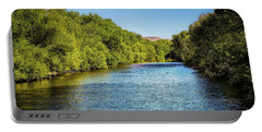 Portable Battery Charger featuring the photograph Boise River by Jon Burch Photography
