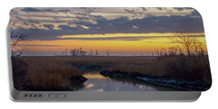 Bombay Hook Dawn's Early Light Portable Battery Charger