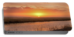 Bombay Hook Sunrise Portable Battery Charger