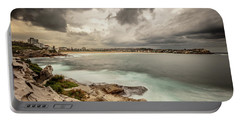 Portable Battery Charger featuring the photograph Bondi Beach by Chris Cousins