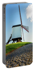 Bonne Chiere Windmill Bruges Belgium Portable Battery Charger