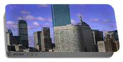 Boston Ma Skyline Portable Battery Charger