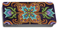 Botanical Mandala 12 Portable Battery Charger