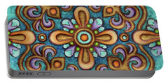Botanical Mandala 7 Portable Battery Charger