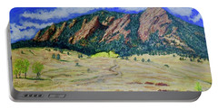 Flatirons Boulder Colorado Portable Battery Charger