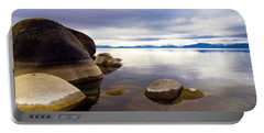Boulders At Sand Harbor Portable Battery Charger