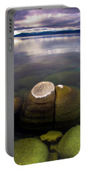 Boulders Underwater At Sand Harbor Portable Battery Charger