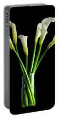 Bouquet Of Calla Lilies Portable Battery Charger
