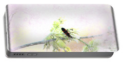 Boxelder Bug In Morning Haze Portable Battery Charger