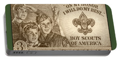 Boy Scouts 1950 Portable Battery Charger