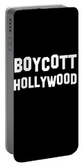 Boycott Hollywood Portable Battery Charger