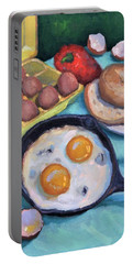 Breakfast Portable Battery Charger