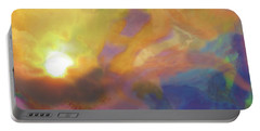 Portable Battery Charger featuring the digital art Breakthrough by Jacqueline Shuler