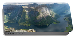 Portable Battery Charger featuring the photograph Breiskrednosie, Norway by Andreas Levi