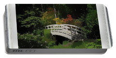 Bridge To The Azalea Gardens Portable Battery Charger