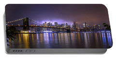 Bright Lights Of New York II Portable Battery Charger