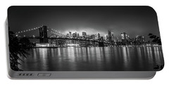 Bright Lights Of New York Portable Battery Charger