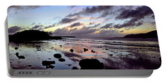 Bright Mirror Of Sunset Light Portable Battery Charger
