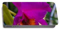 Brilliant Orchid Portable Battery Charger