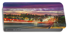 Broadway Sunset, Tucson, Az Portable Battery Charger