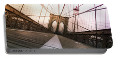Brooklyn Bridge, New York City Portable Battery Charger