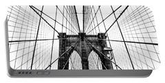 Brooklyn Bridge Web Portable Battery Charger