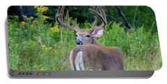 Buck At Hunter Cove Portable Battery Charger