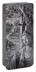 Buddha And The Village Portable Battery Charger