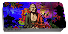 Buddhist Monk. Portable Battery Charger