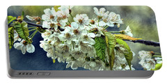 Budding Blossoms Portable Battery Charger