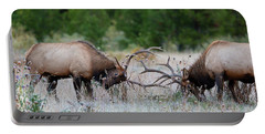 Bull Elk Battle Rocky Mountain National Park Portable Battery Charger