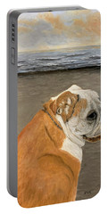 Bulldog  On The Beach Portable Battery Charger