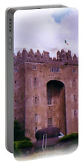 Bunratty Castle Painting Portable Battery Charger