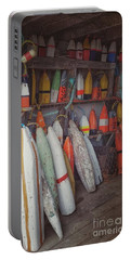 Buoys In A Sea Shack Portable Battery Charger