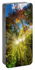 Burst Of Fall Colors Portable Battery Charger