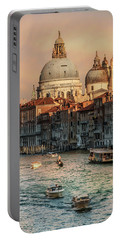Busy Morning In Venice Portable Battery Charger