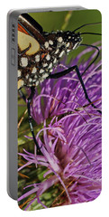 Butterfly Closeup Vertical Portable Battery Charger