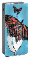 Butterfly Garden Summer 1 Portable Battery Charger