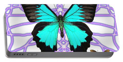 Butterfly Patterns 18 Portable Battery Charger