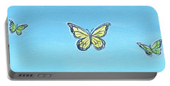 Butterfly Sky Portable Battery Charger