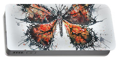 Butterfly Study I Portable Battery Charger