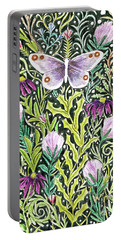 Butterfly Tapestry Design Portable Battery Charger