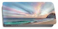 Cabo San Lucas Beach Wave Sunset Portable Battery Charger