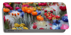 Cacti Flowers Portable Battery Charger