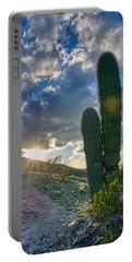 Cactus Portrait  Portable Battery Charger